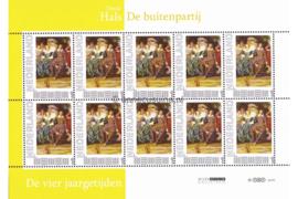 Nederland NVPH 2751-Aa-4 Postfris Abonnementsuitgaven (Persoonlijke Postzegels) Velletje D. Hals De Buitenpartij 2010