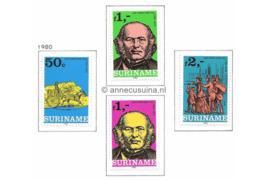 Zonnebloem 205-208 Postfris De Internationale Postzegeltentoonstelling incl. zegel uit blok 1980