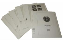 Lindner Inhouden / T-Voordruk albumbladen met folie voorbladen met stroken (Inhoud) Bulgarije 1984-1986 (43 bladen) (Lindner 136-84)