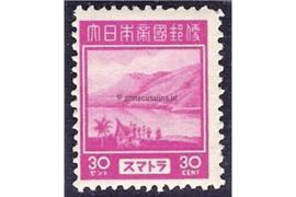 Sumatra NVPH JS9 (30 cent) Ongebruikt Frankeerzegels 1943-1944