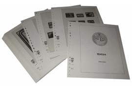 Lindner Inhouden / T-Voordruk albumbladen met folie voorbladen met stroken (Inhoud) Bangladesh 1991-2000 (47 bladen) (Lindner 507-91)