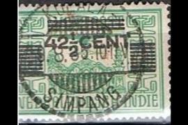 KOEALA- SIMPANG 9-8-1935 op NVPH 214 (SvL 1)