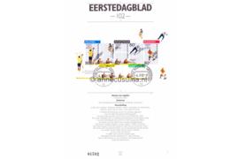 Nederland Importa EDB102 (NVPH 1517) Eerstedagblad Blok Olympische Spelen Barcelona en Olympische winterspelen Albertville 1992