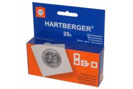Hartberger Munthouders zelfklevend Assorti maten 17,5 t/m 39,5 (25 stuks) (Hartberger 8320000)