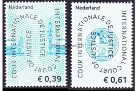 Nederland NVPH D59-D60 Postfris COUR INTERNATIONALE DE JUSTICE 2004