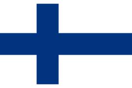 Velletje met vlaggen Finland 72 stuks