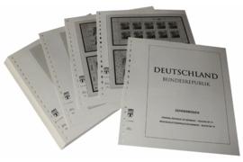 Lindner Inhouden / T-Voordruk albumbladen met folie voorbladen met stroken (Inhoud) Vellen van 10; 1999 (34 bladen) (Lindner 120BK-99)