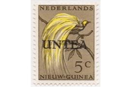 NVPH 3 Postfris (5 cent) Overdrukken op postzegels van Nederlands Nieuw Guinea 1962