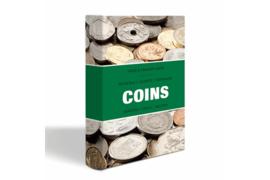 Leuchtturm (Lighthouse) Coins Zakalbum Munten met 8 bladen voor 6 munten tot 33 mm (Leuchtturm/Lighthouse 344 961)