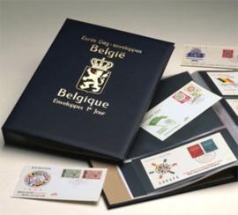 DAVO Luxe FDC albums (Groot) met inhoud en cassette; Overige landen
