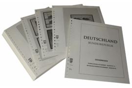 Lindner Inhouden / T-Voordruk albumbladen met folie voorbladen met stroken (Inhoud) Vellen van 10; 2002 (49 bladen) (Lindner 120BK-02)