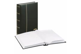 Lindner Insteekalbum Elegant/Luxe 64 blz. Witte bladen/Zwarte kaft (Lindner 1175-S)