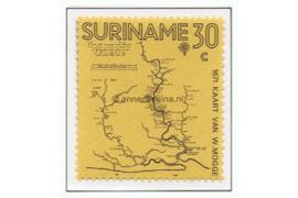 NVPH 567 Postfris 300 jaar landkaarten Suriname