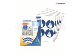 """Herma Gebodstickers """"Handen Desinfecteren"""" (ø 10cm) 20 Stickers (Herma 12928)"""