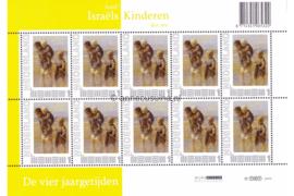 Nederland NVPH V2751 Postfris Velletje Jozef Israëls; Vel 10 x 1 2010