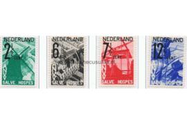 NVPH 244-247 Postfris  A.N.V.V.  zegels (Salve Hospes) 1932