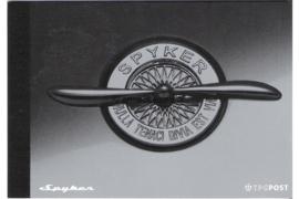 NVPH PR3 Postfris Prestigeboekje Spyker 2004