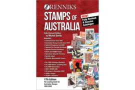 Renniks Stamps of Australia 17th Edition 1850-2020 (ISBN: 9-780648-793694)