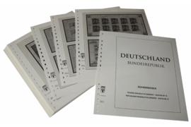 Lindner Inhouden / T-Voordruk albumbladen met folie voorbladen met stroken (Inhoud) Vellen van 10; 1997 (37 bladen) (Lindner 120BK-97)