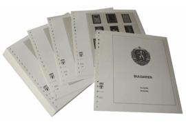 Lindner Inhouden / T-Voordruk albumbladen met folie voorbladen met stroken (Inhoud) Bulgarije 1980-1983 (51 bladen) (Lindner 136-80)