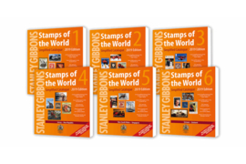 "World Catalogues 2019 ""Stamps of the World"" Vol.1-6"