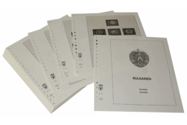 Lindner Inhouden / T-Voordruk albumbladen met folie voorbladen met stroken (Inhoud) Bulgarije 1971-1975 (51 bladen) (Lindner 136A)