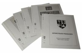 Lindner Inhouden / T-Voordruk albumbladen met folie voorbladen met stroken (Inhoud) Frans Antarctische Gebieden (TAAF) 1998-2012 (52 bladen) (Lindner 440-98)