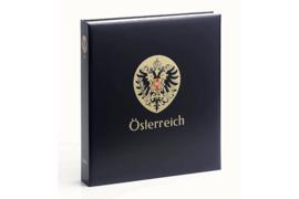 DAVO Standaard-Luxe postzegelalbum Oostenrijk I 1850-1937 INCL. LUXE CASSETTE