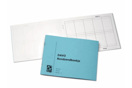 DAVO Rondzendboekje