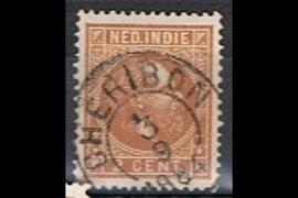 CHERIBON 3-9-1884 op NVPH 6 (SvL 10)