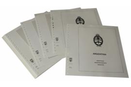 Lindner Inhouden / T-Voordruk albumbladen met folie voorbladen met stroken (Inhoud) Argentinië 2004-2007 (37 bladen) (Lindner 461-04)