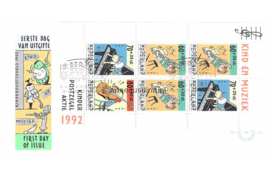 NVPH E302a Blok Kinderzegels 1992
