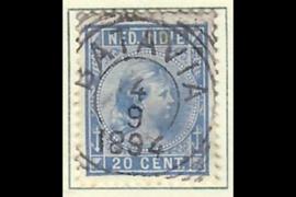 BATAVIA 4-9-1894 op NVPH 26 (SvL 1)