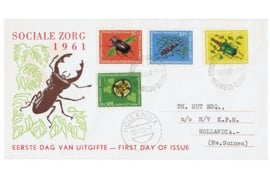 1e Dag-enveloppen (FDC's) Beschreven