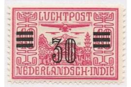 NVPH LP11 Postfris Opdruk in zwart op luchtpostzegel der uitgifte 1928