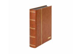 Lindner Insteekalbum Elegant (Luxe) Zwarte bladen/Bruine kaft (Lindner 1169S-H)