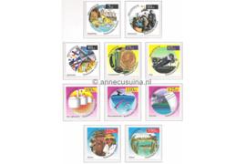 Nederlandse Antillen NVPH 1264-1273 Postfris Milleniumzegels 1999