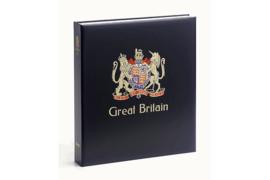 DAVO Luxe postzegelalbum Groot Britannië I 1840-1970 INCL. LUXE CASSETTE