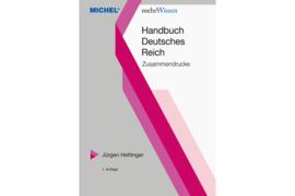 MICHEL Zusammendrucke Deutsches Reich (ISBN 9783954023004)