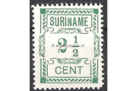Suriname NVPH 66 Postfris FOTOLEVERING (2 1/2 cent / Type I) Hulpuitgifte 1912
