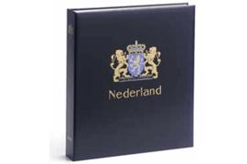 DAVO Luxe postzegelalbum Nederland Losse zegels en combinaties uit boekjes (ZAU/S losse pzs) t/m 2003 INCL. LUXE CASSETTE