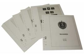 Lindner Inhouden / T-Voordruk albumbladen met folie voorbladen met stroken (Inhoud) Bulgarije 1963-1966 (37 bladen) (Lindner 135-63)