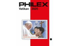 Philex Vaticaan 2020 Catalogus in kleur