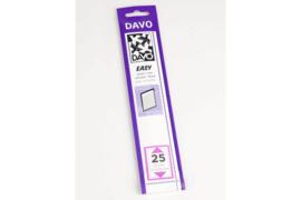 DAVO Easy stroken zwart Z25 (215 x 29) 25 stuks