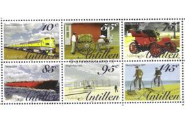 Nederlandse Antillen NVPH V1507-1512 Postfris (Half velletje Zonder Velrand) Transport 2004
