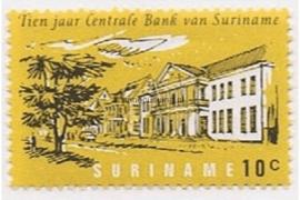 NVPH 475 Postfris (10 cent) 10 jaar Centrale Bank 1967