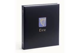 DAVO Standaard-Luxe postzegelalbum Ierland I 1922-1989 INCL. LUXE CASSETTE
