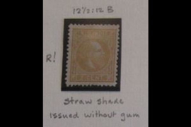 NVPH 6Fb Postfris FOTOLEVERING (2 cent) Koning Willem III Strogeel 12 1/2 x 12