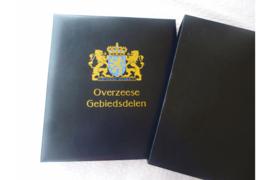 Gebruikt DAVO Luxe Postzegelalbum Ned. Overz. Gebdln (OGD I) Nederlands Indie / Nieuw-Guinea
