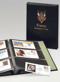 DAVO Luxe album FDC Frankrijk/France